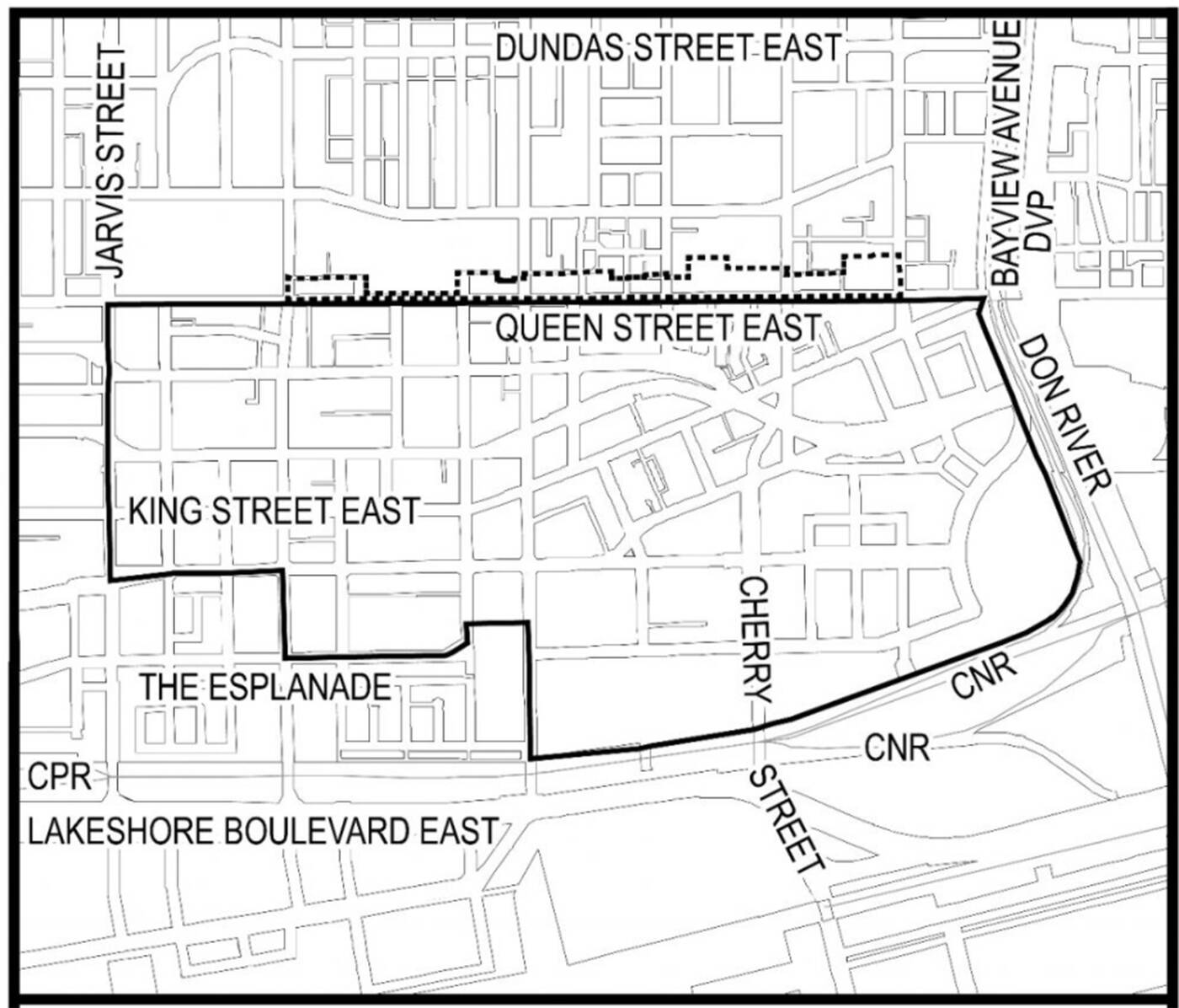 king-parliament secondary plan