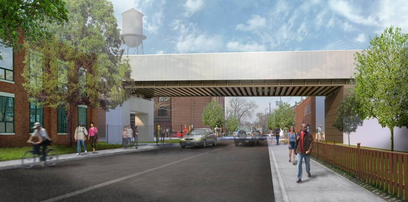 Davenport Diamond Greenway project