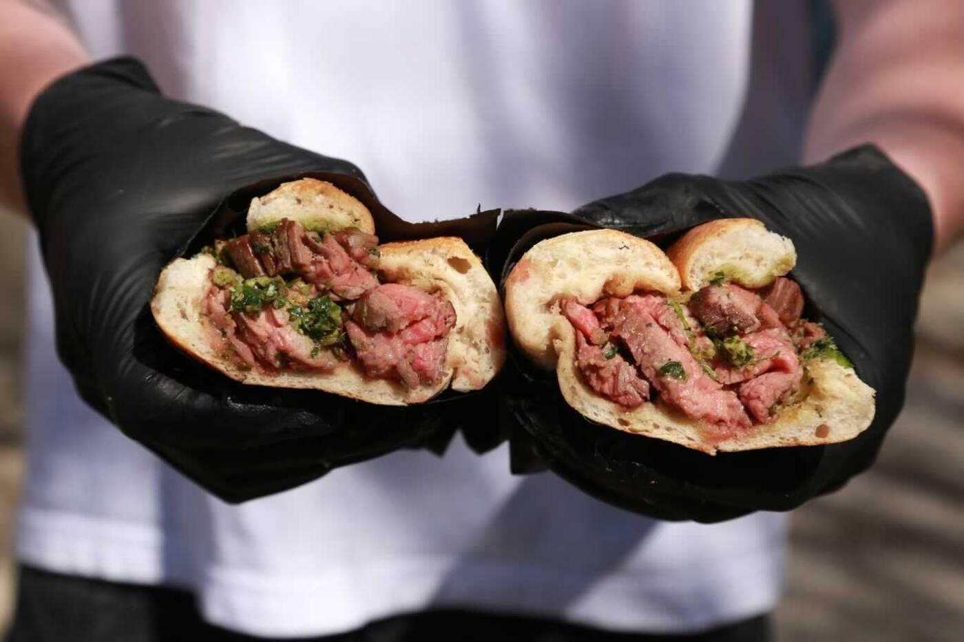 bear steak sandwiches toornto