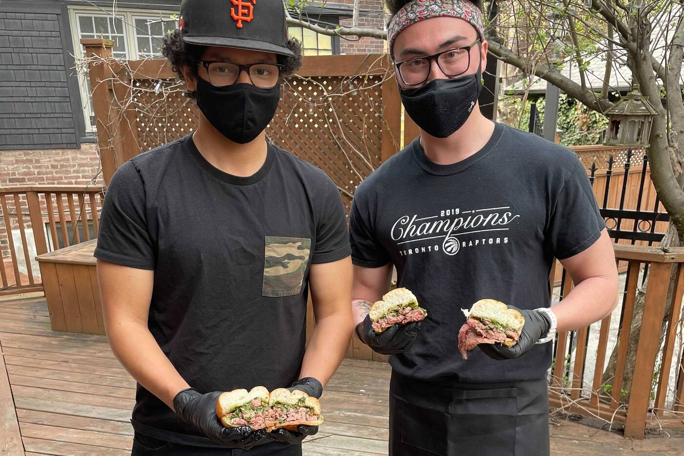 bear steak sandwiches toronto