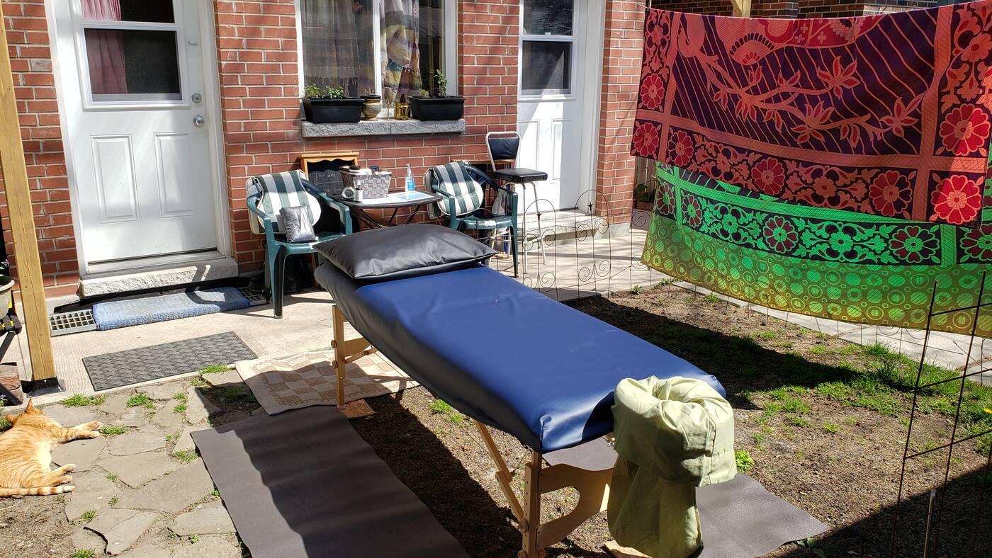outdoor massage toronto