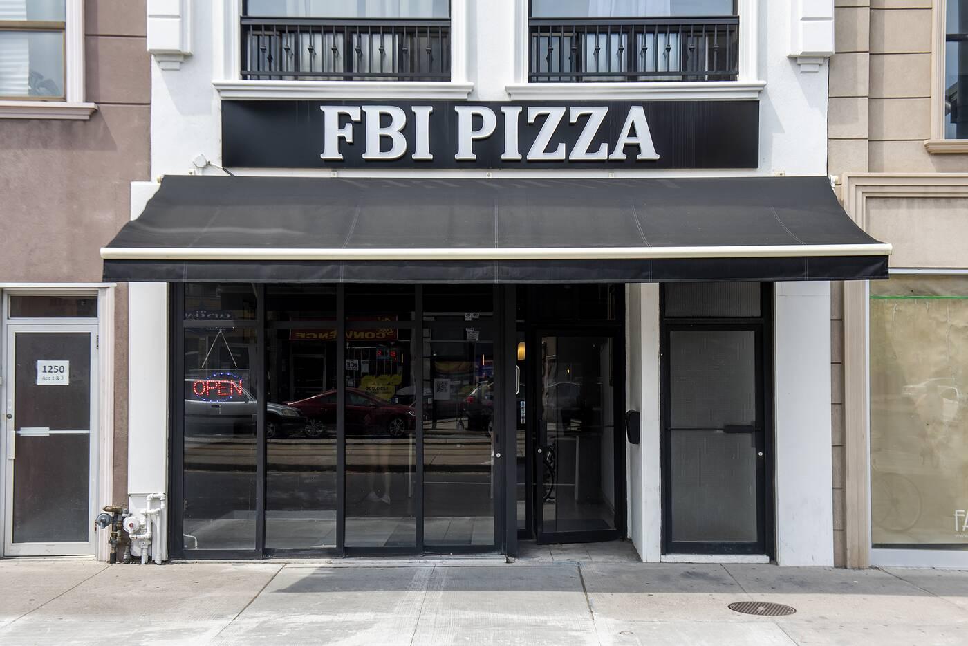 FBI Pizza Toronto