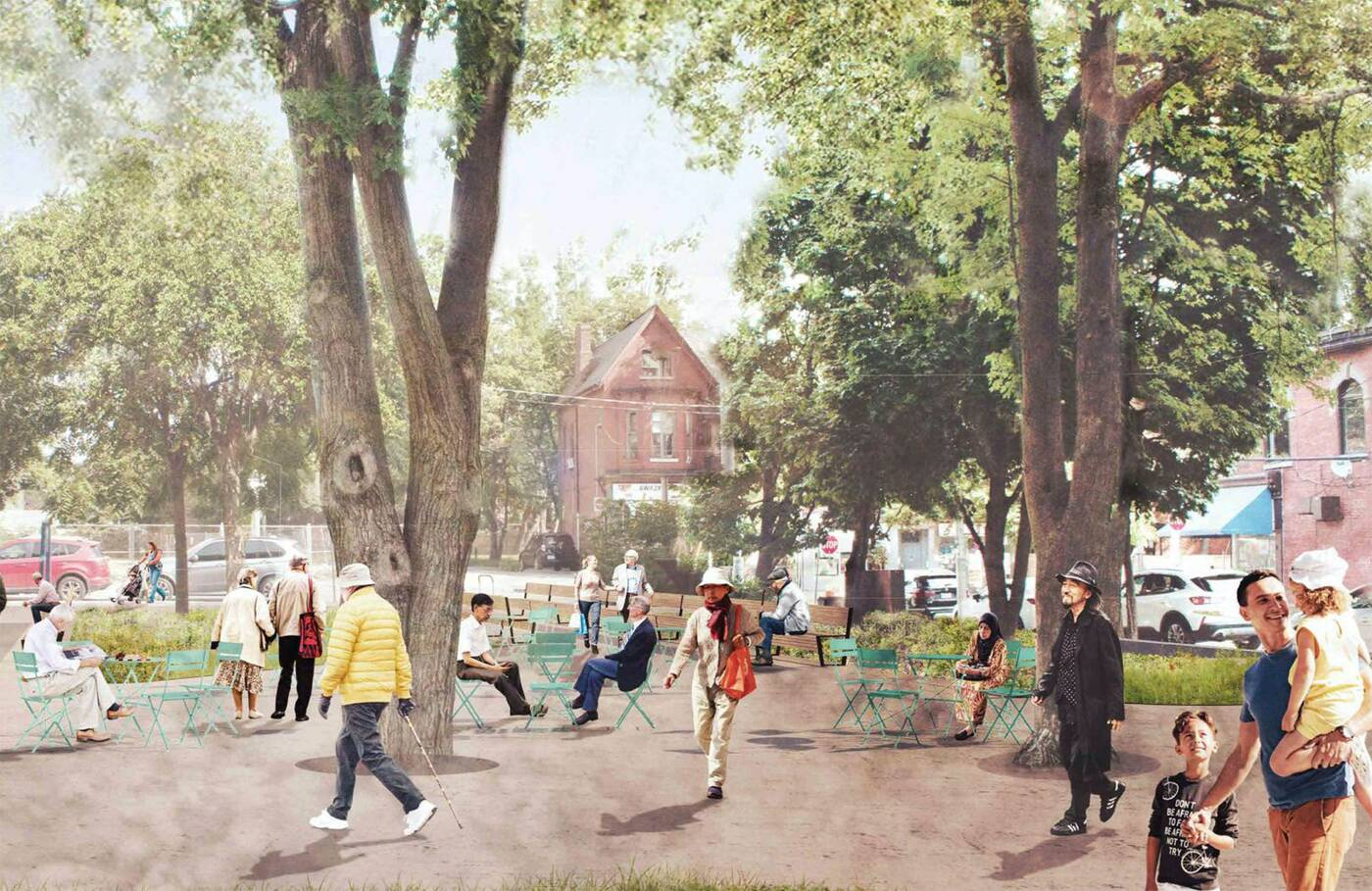 St James Town West Park Toronto