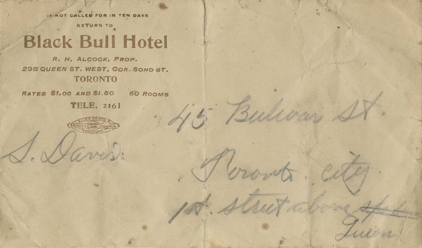 black bull tavern toronto