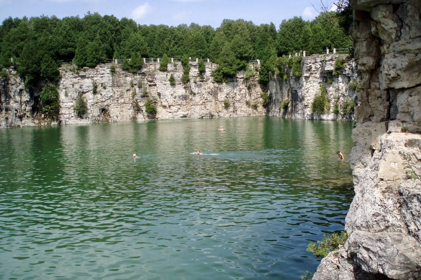 elora quarry conservation area