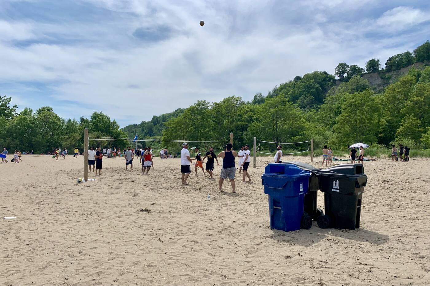 bluffers park beach