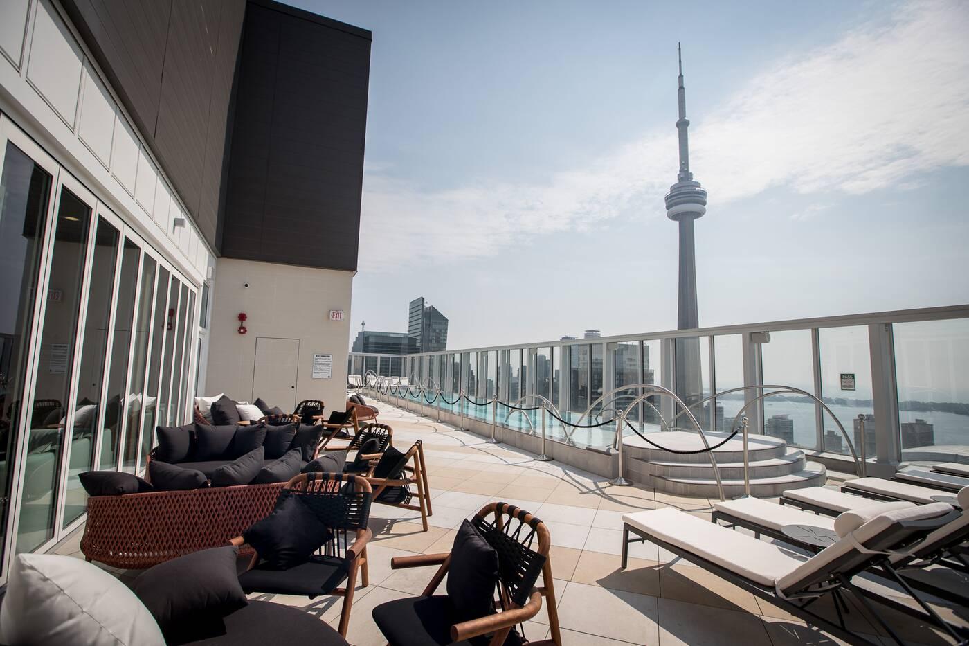 rooftop terrace toronto
