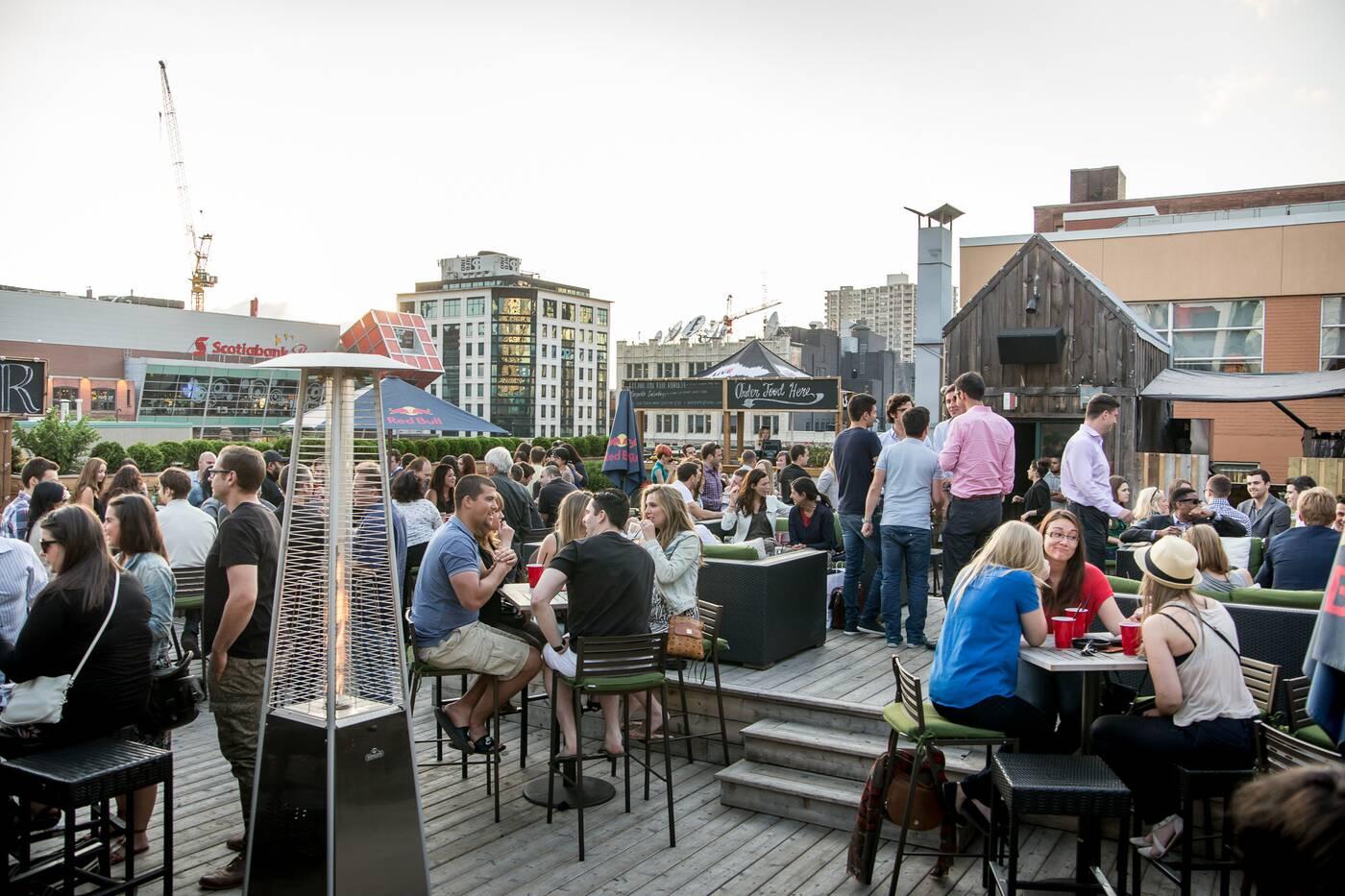 rooftop terraces toronto