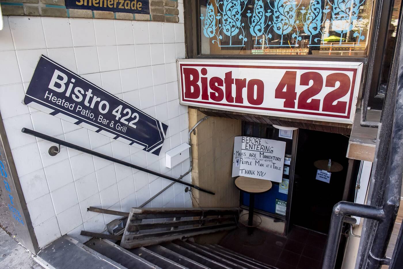 bistro 422 toronto