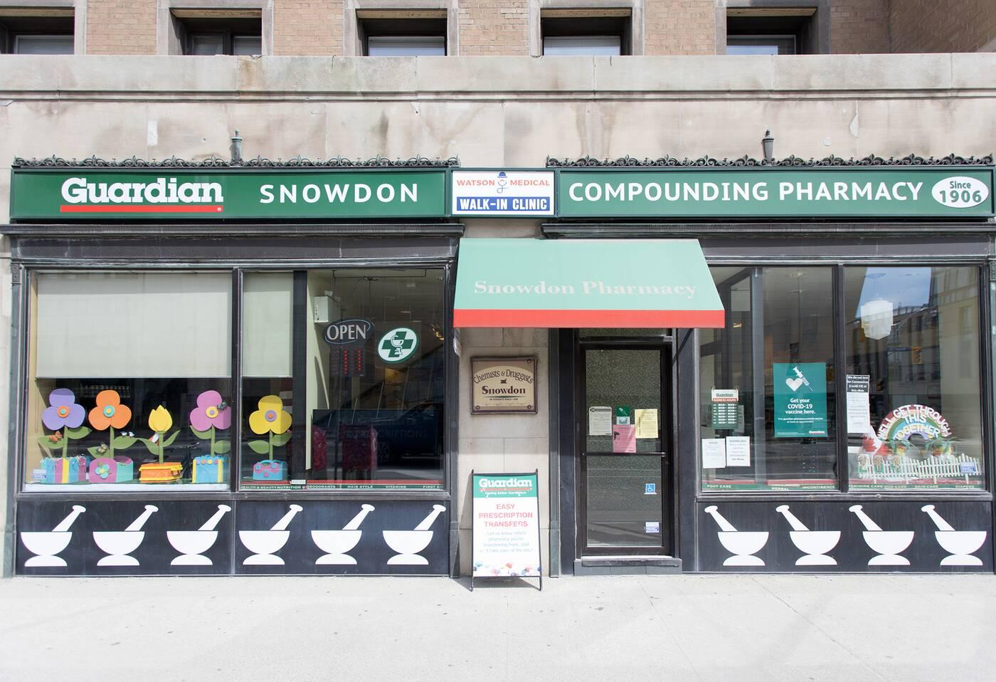 snowdown pharmacy toronto