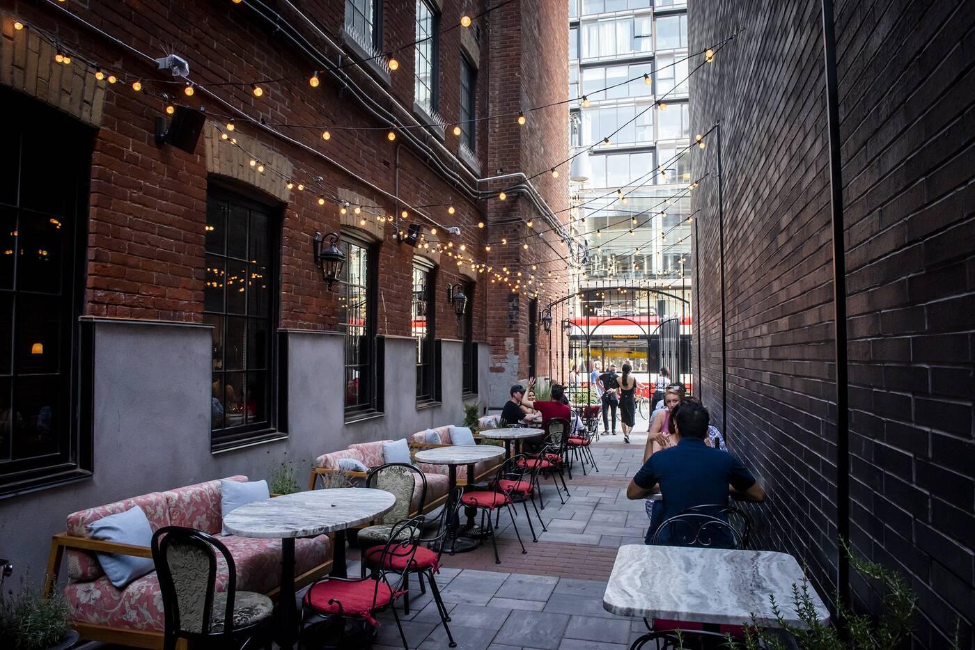 king west patios