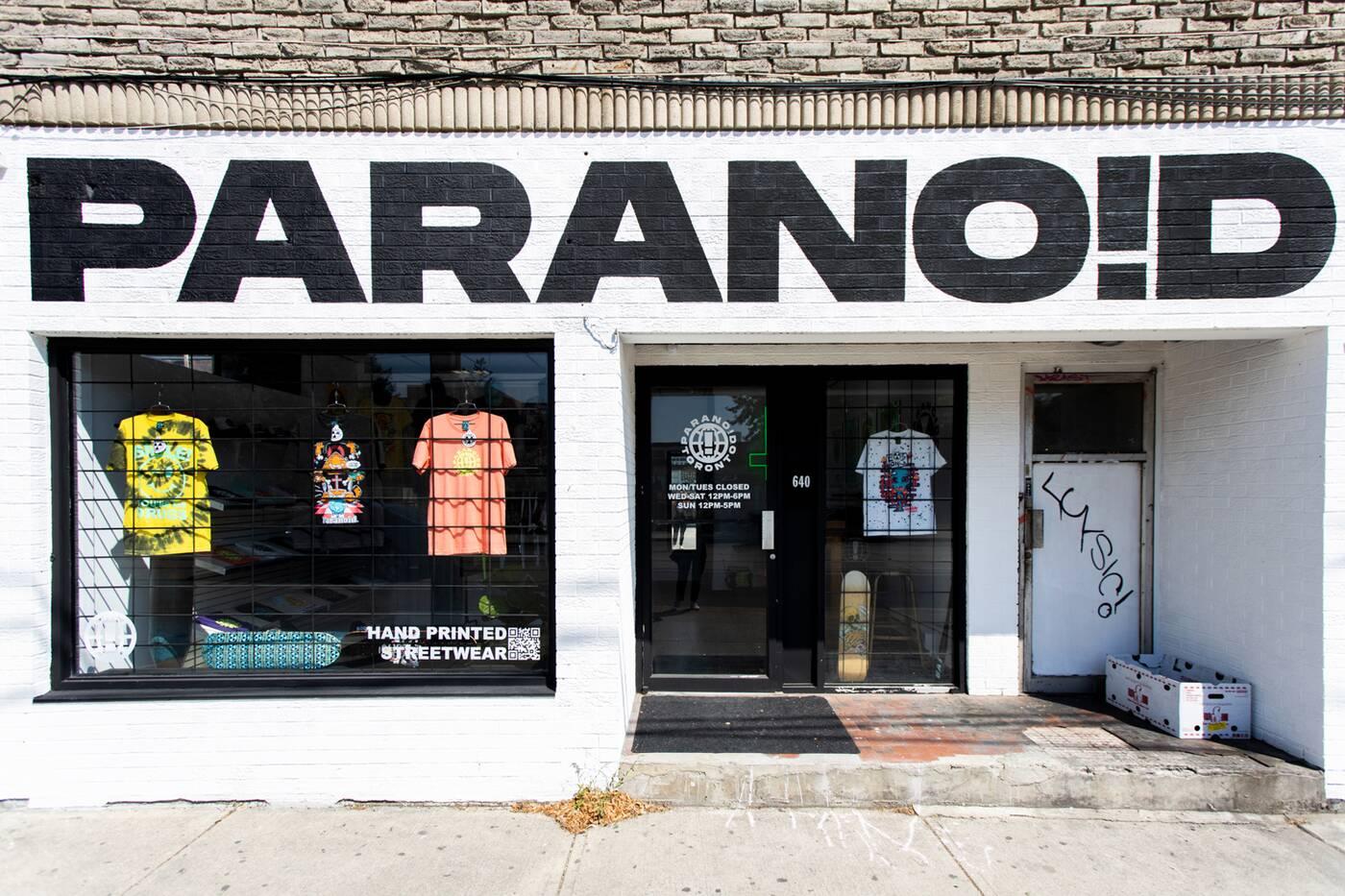 paranoid toronto