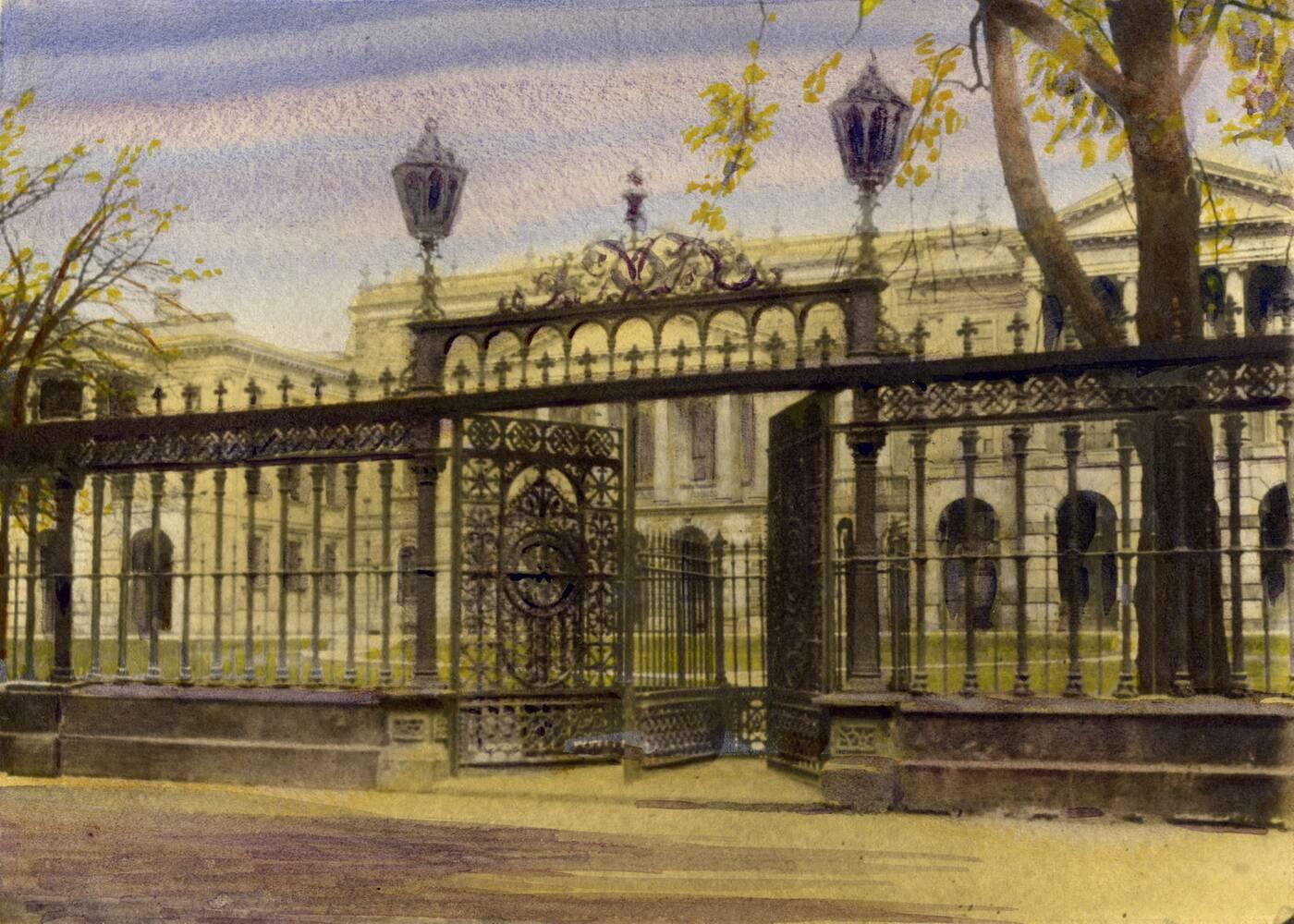 osgoode hall fence