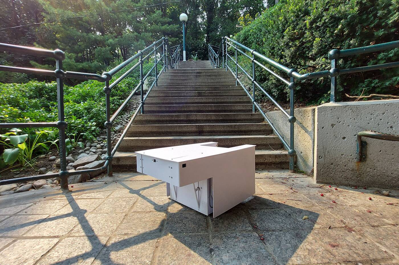 toronto robot stairs