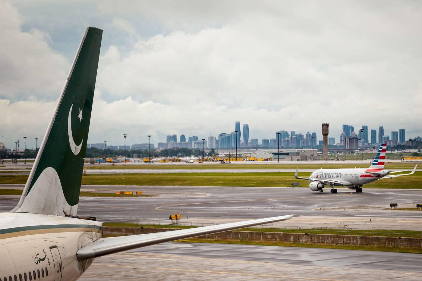 pearson airport delays testing toronto