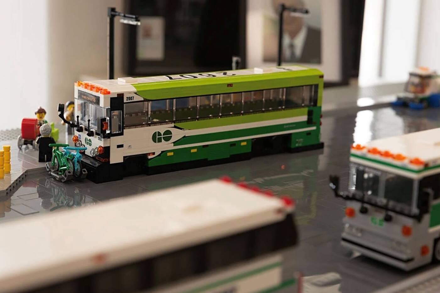 lego go metrolinx transit station