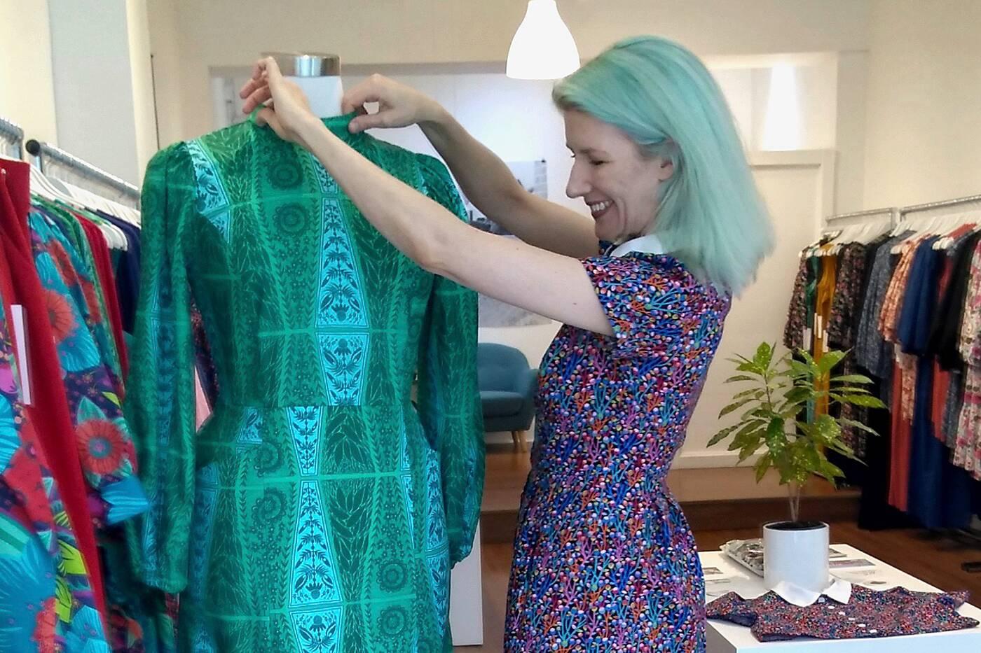 sophie trudeau dress