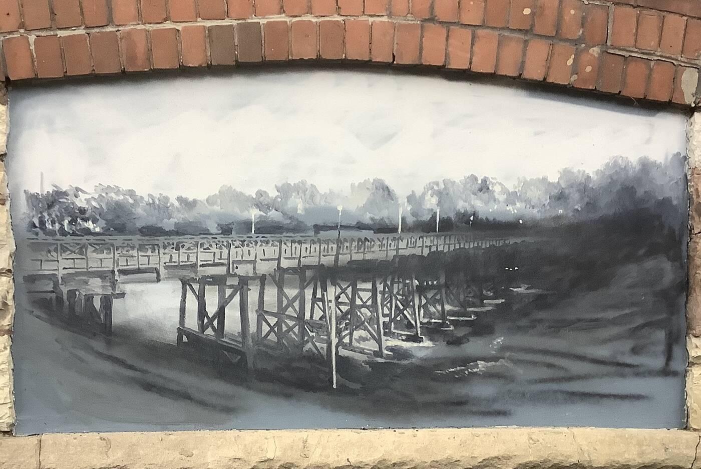 toronto bridges painting
