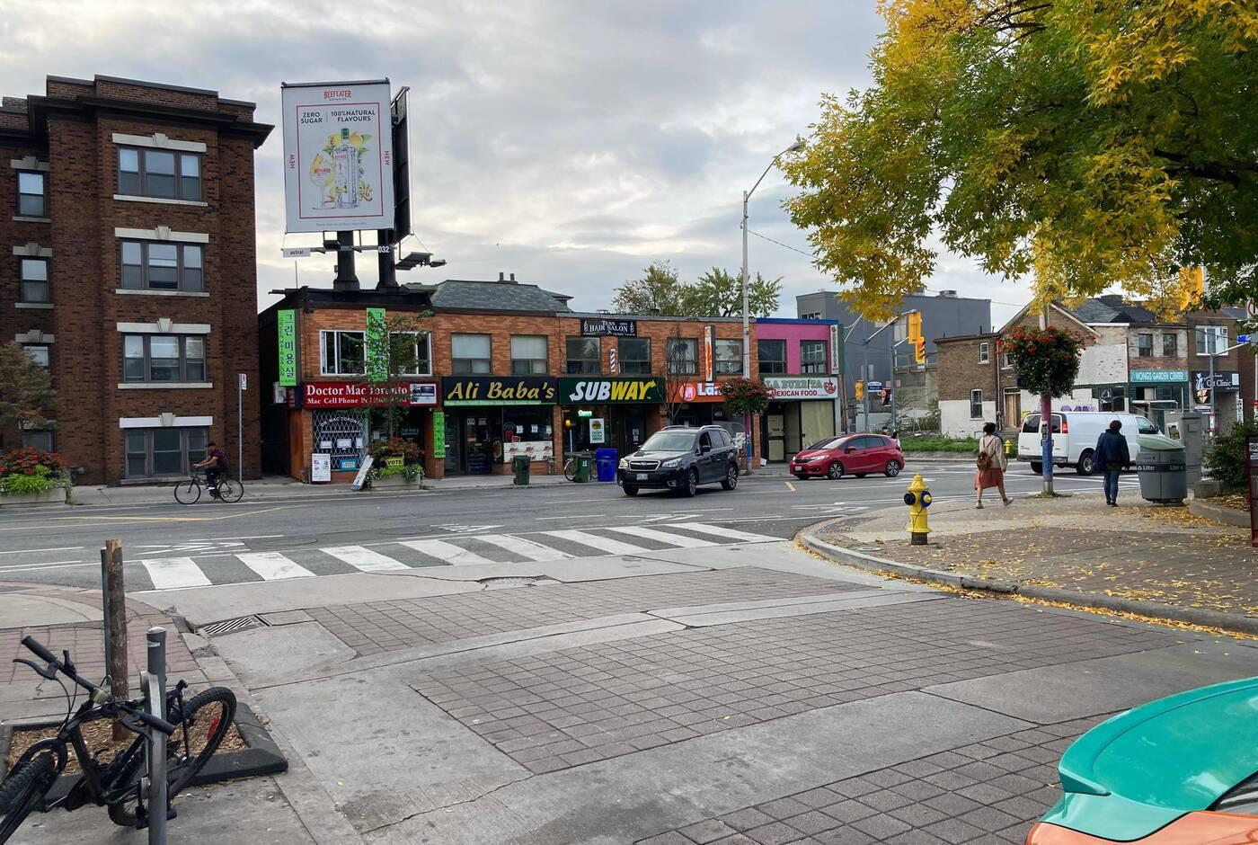 bloor christie intersection