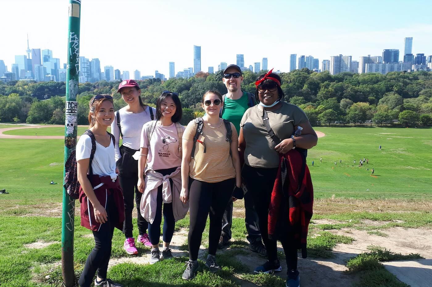 black hiking groups