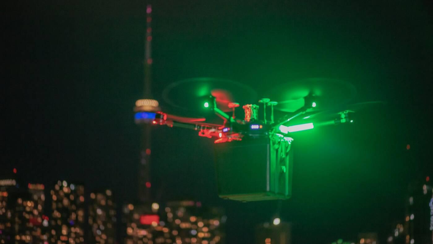 toronto lung drone